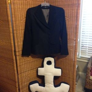 David Balanchine Paris Blk blazer coat NWOT France